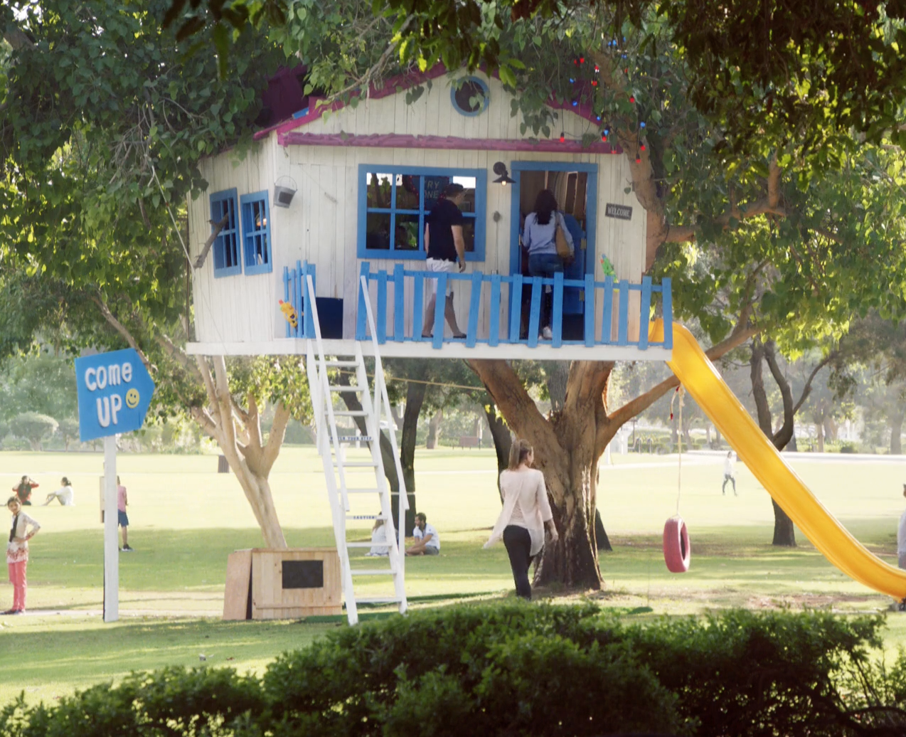 Wrigley's Tree House
