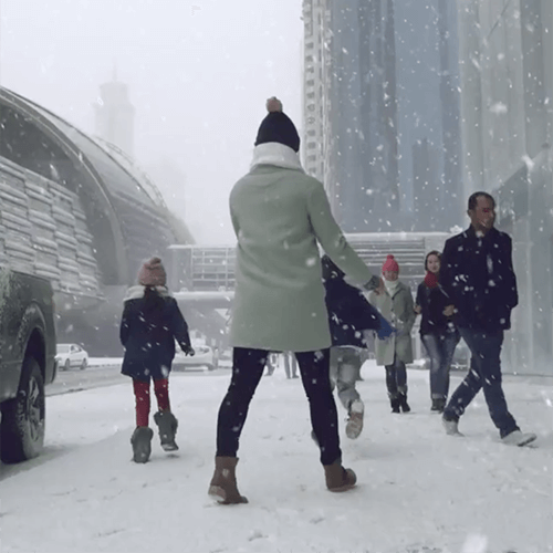 Snow-Sama Dubai TV Idents